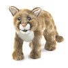 Mountain Lion Cub Hand Puppet by Folkmanis Disc.