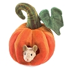 Mouse in Pumpkin Hand Puppet by Folkmanis