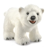 Polar Bear Cub Hand Puppet by Folkmanis 3041