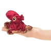 Red Octopus Finger Puppet by  Folkmanis  2767