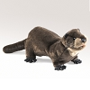 River Otter Hand Puppet by Folkmanis