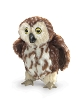 Saw Whet Owl hand Puppet by Folkmanis Disc