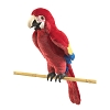 Scarlet Macaw Hand Puppet by Folkmanis Puppets