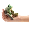 Sitting Frog Finger Puppet by Folkmanis Puppets 2780