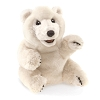 Sitting Polar Bear Puppet by Folkmanis 3103