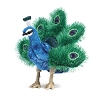 Small Peacock Puppet by Folkmanis