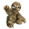 Three Toed Sloth Puppet by Folkmanis Puppets 3131