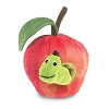 Worm in Apple Hand Puppet by Folkmanis