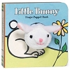 Little Bunny Board Book with Bunny Finger Puppet