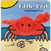 Little Crab Board Book with Crab Finger Puppet