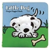 Little Dog Board Book with Dog Finger Puppet