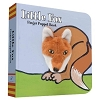 Little Fox Board Book with Fox Finger Puppet