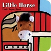 Little Horse Board Book with Horse Finger Puppet
