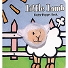 Little Lamb Board Book with Lamb Finger Puppet