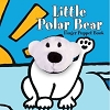 Little Polar Bear Board Book with Polar Bear Finger Puppet