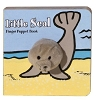 Little Seal Board Book with Seal Finger Puppet