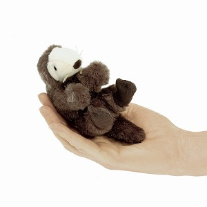 Folkmanis Sea Otter Finger Puppet T2766 Disc