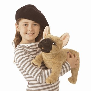 French Bulldog Hand Puppet by Folkmanis 3066