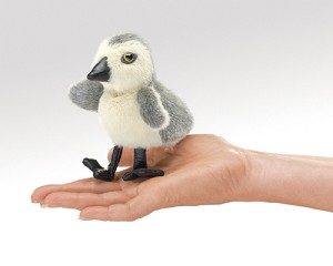 Gosling Finger Puppet by Folkmanis Disc