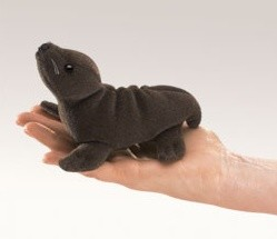 Sea Lion Finger Puppet by Folkmanis Disc 2734