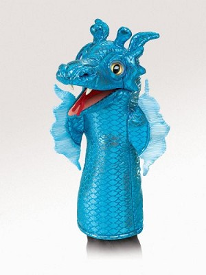 Sea Serpent Stage Puppet by Folkmanis Disc.