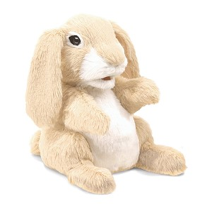 Sniffing Rabbit Hand Puppet by Folkmanis