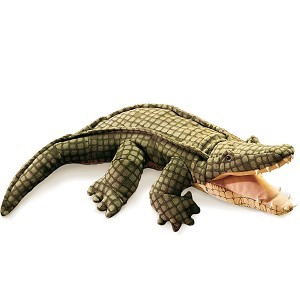 Alligator Hand Puppet by Folkmanis Puppets