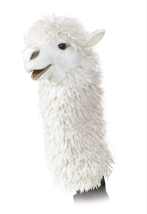 Alpaca Stage Puppet by Folkmanis 2885