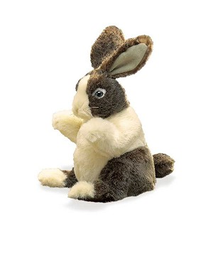 Baby Dutch Rabbit Puppet by Folkmanis