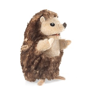 Baby Hedgehog Hand Puppet by Folkmanis Disc.