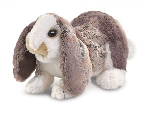 Baby Lop Rabbit Hand Puppet by Folkmanis