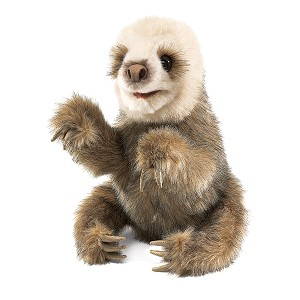 Baby Sloth Puppet by Folkmanis Puppets
