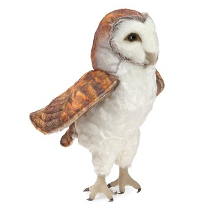 Barn Owl Hand Puppet by Folkmanis 3124