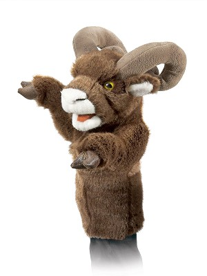 Bighorn Sheep Stage Puppet Disc.