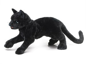 Black Cat Hand Puppet by Folkmanis 2987