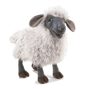 Bleating Sheep Hand Puppet by Folkmanis