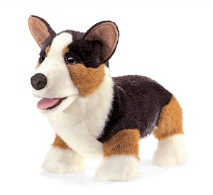 Corgi Hand Puppet by Folkmanis Disc