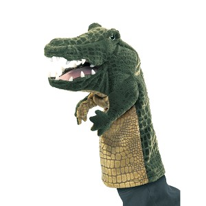 Crocodile Stage Puppet by Folkmanis Puppets