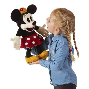 Disney Vintage Minnie Mouse Hand Puppet by Folkmanis 5019