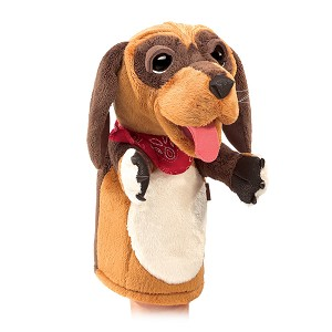 Dog Stage Puppet by Folkmanis