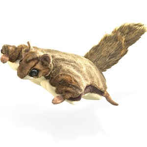 Flying Squirrel Puppet by Folkmanis