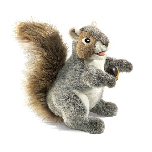 Gray Squirrel Puppet by Folkmanis
