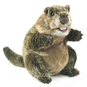 Groundhog Hand Puppet by Folkmanis 3169