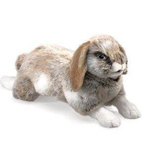 Holland Lop Rabbit  Puppet by Folkmanis