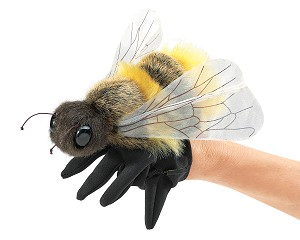 Honey Bee Hand Puppet by Folkmanis