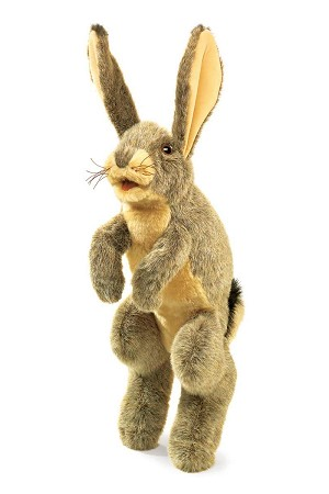 Jack Rabbit Hand Puppet by Folkmanis