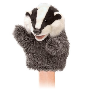 Little Badger Puppet by Folkmanis