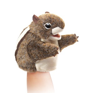 Little Chipmunk Puppet by Folkmanis Disc