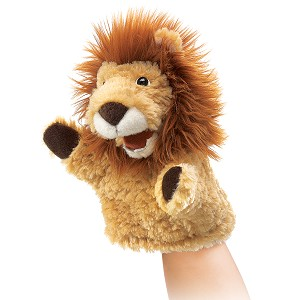 Little Lion Puppet by Folkmanis 2930