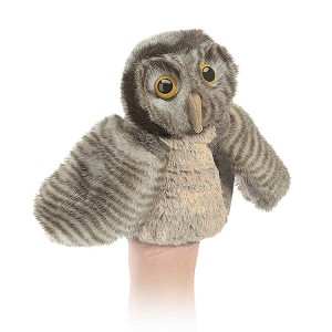 Little Owl Puppet by Folkmanis